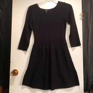 Jessica Simpson Black Sweater Dress.  Size medium
